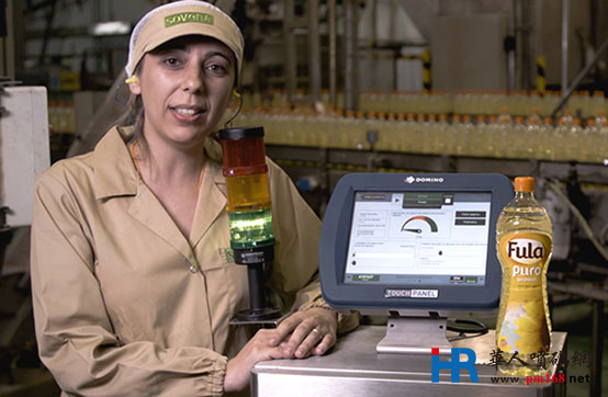 精炼油远销全球,Sovena选择多米诺标识为其护航