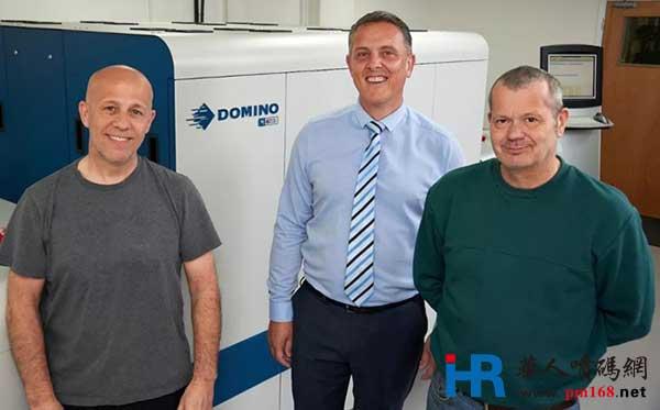 英国Anglia Labels新的业务探索,始于多米诺N610i