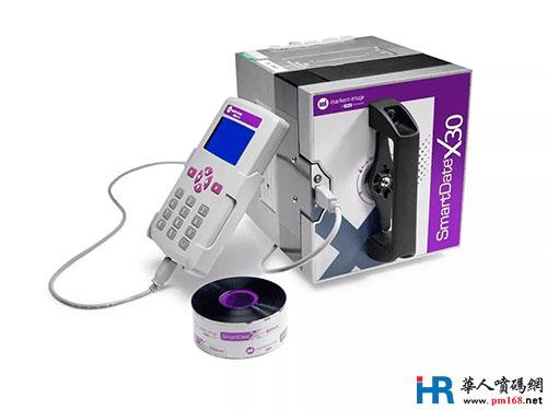 全新热转印打码机 SmartDate X30 亮相重庆药机展
