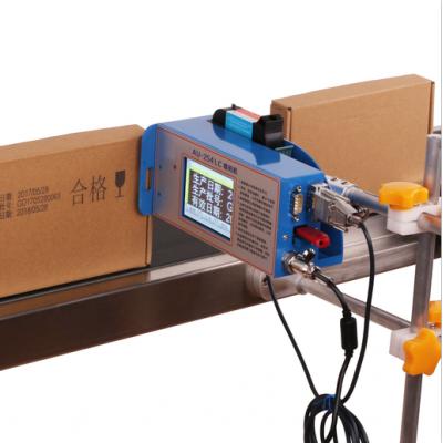 全自动塑料袋喷码机流水线纸箱喷码机塑料包装条码字符喷码机