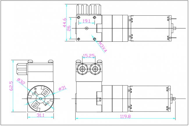 HC  1.30DC•M尺寸图