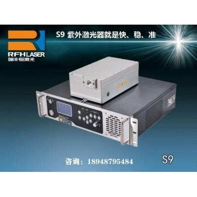 体积小巧S9紫外激光器稳定完成数据线塑料激光器喷码