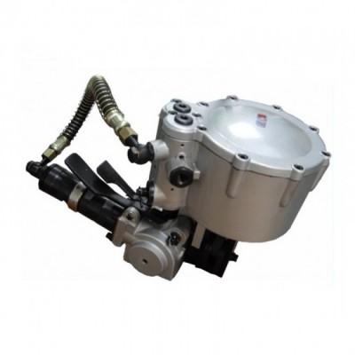 一体式气动打包机无缝管结构钢热度管钢带捆扎机打包机