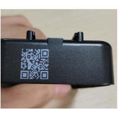 小型台式白墨喷码机传送带桌面喷码机可识别二维码白墨打码机