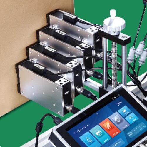 UV喷码机成都申越塑料袋高解析打码机